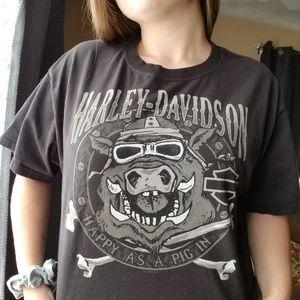 Harley Davidson Hog T-shirt Unisex